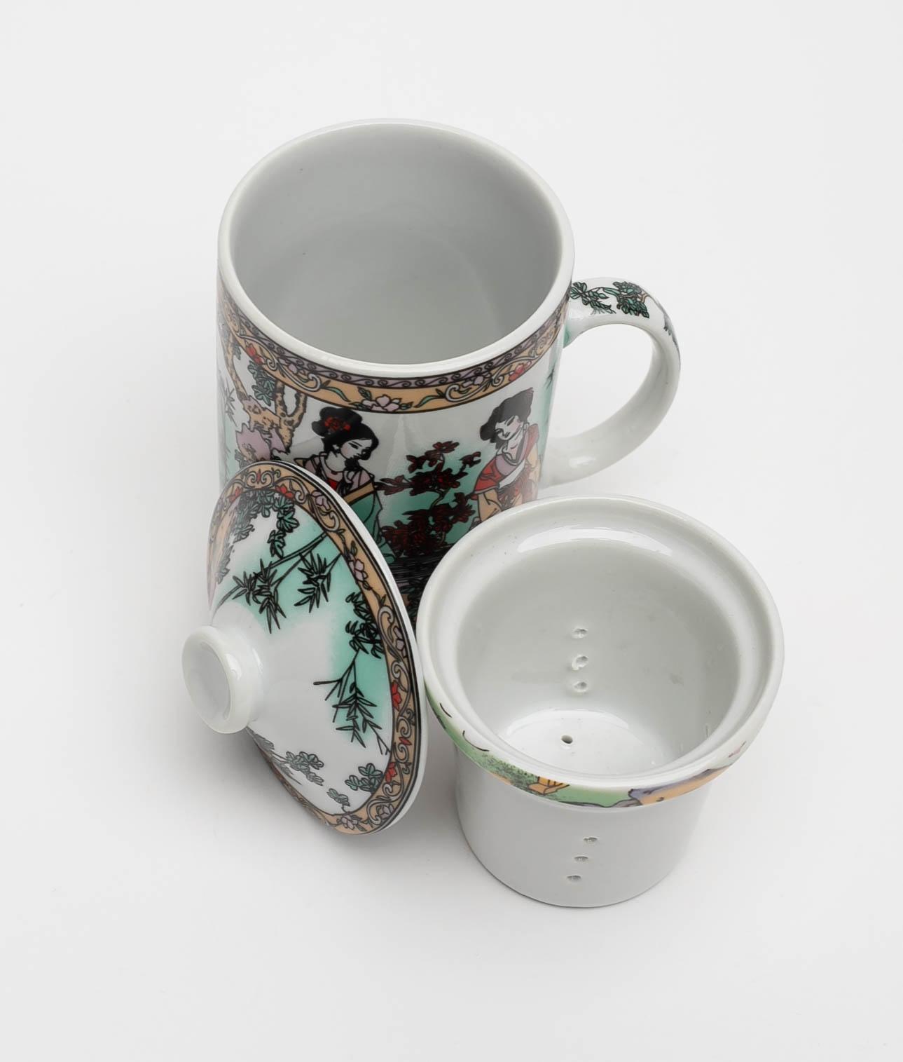 CUP TEA ZALY - AQUAMARINE