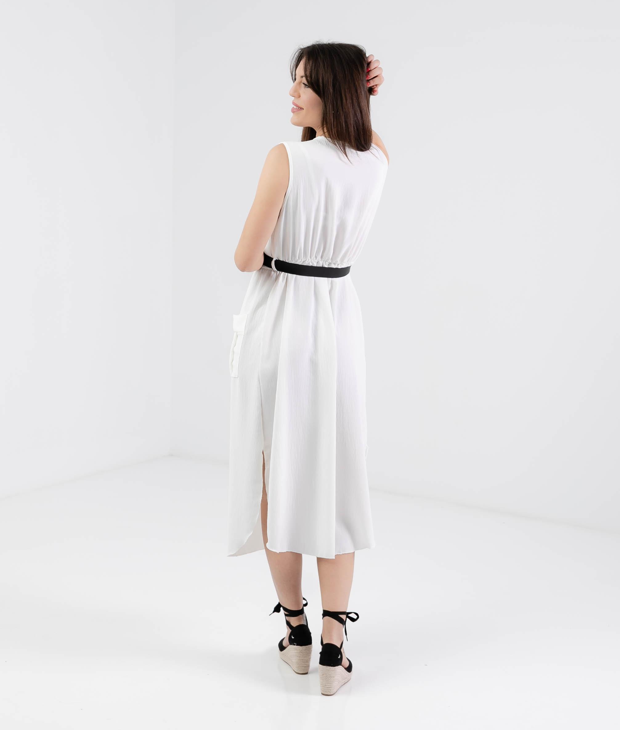 Vestido Tichen - Branco