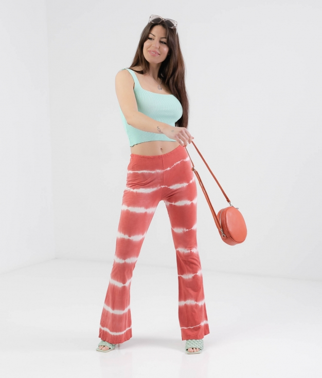 TROUSERS MALLER - CORAL