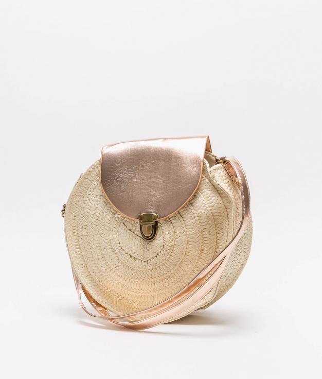 CROSSBODY BAG CINTIA - ROSE GOLD