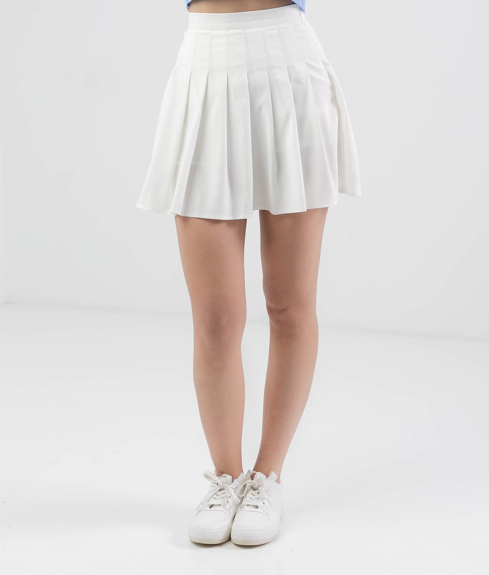 SKIRT PANTS LABON - WHITE
