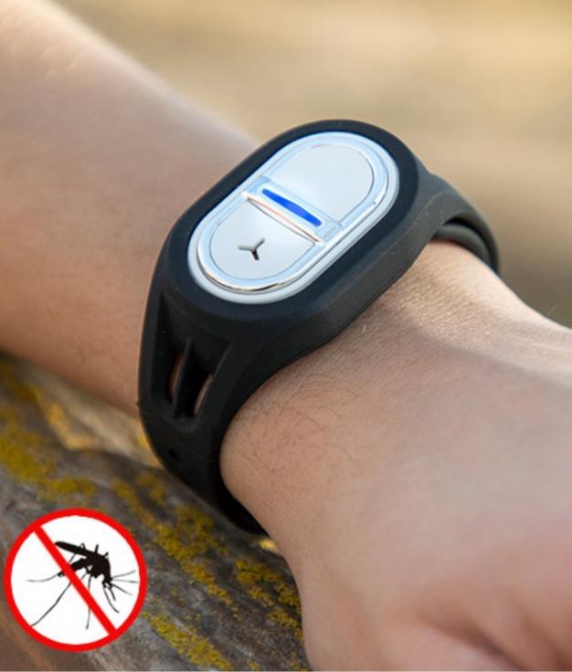 Pulsera Antimosquitos por Ultrasonidos Recargable Banic