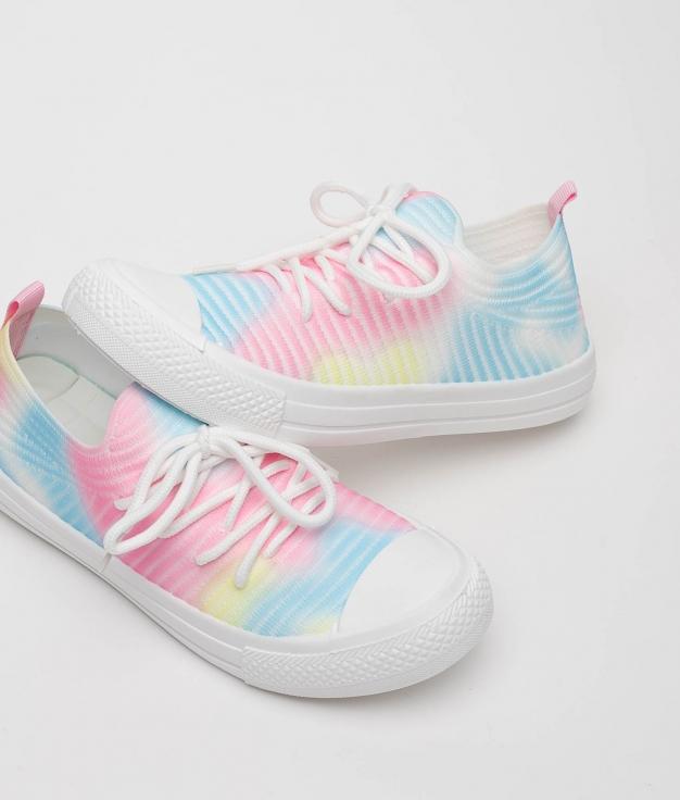 Sneakers Leven - Bleu/Rose