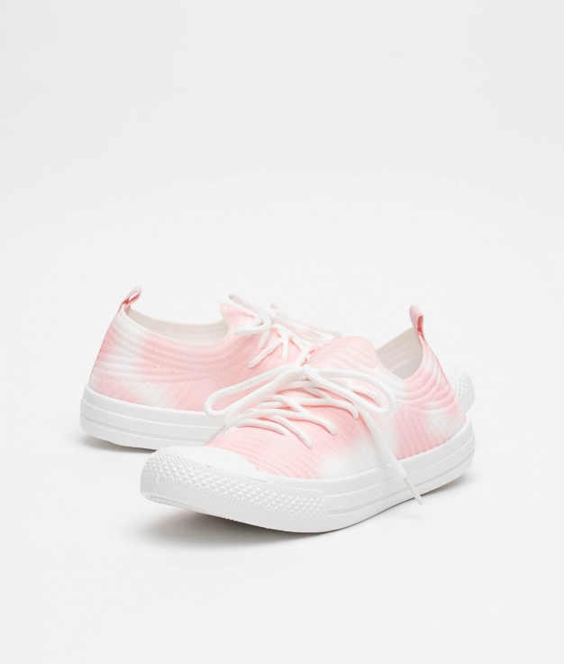 Sneakers Leven - Rose/Blanc