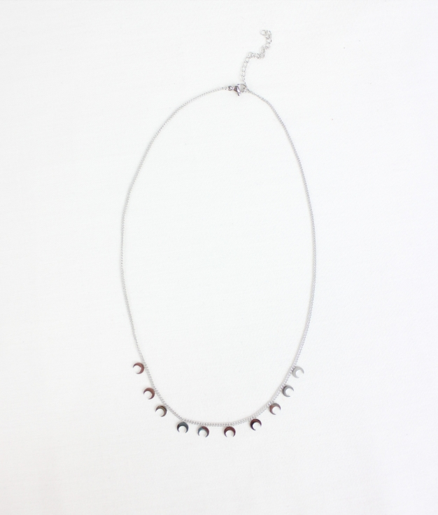 NECKLACE LUKEN - SILVER