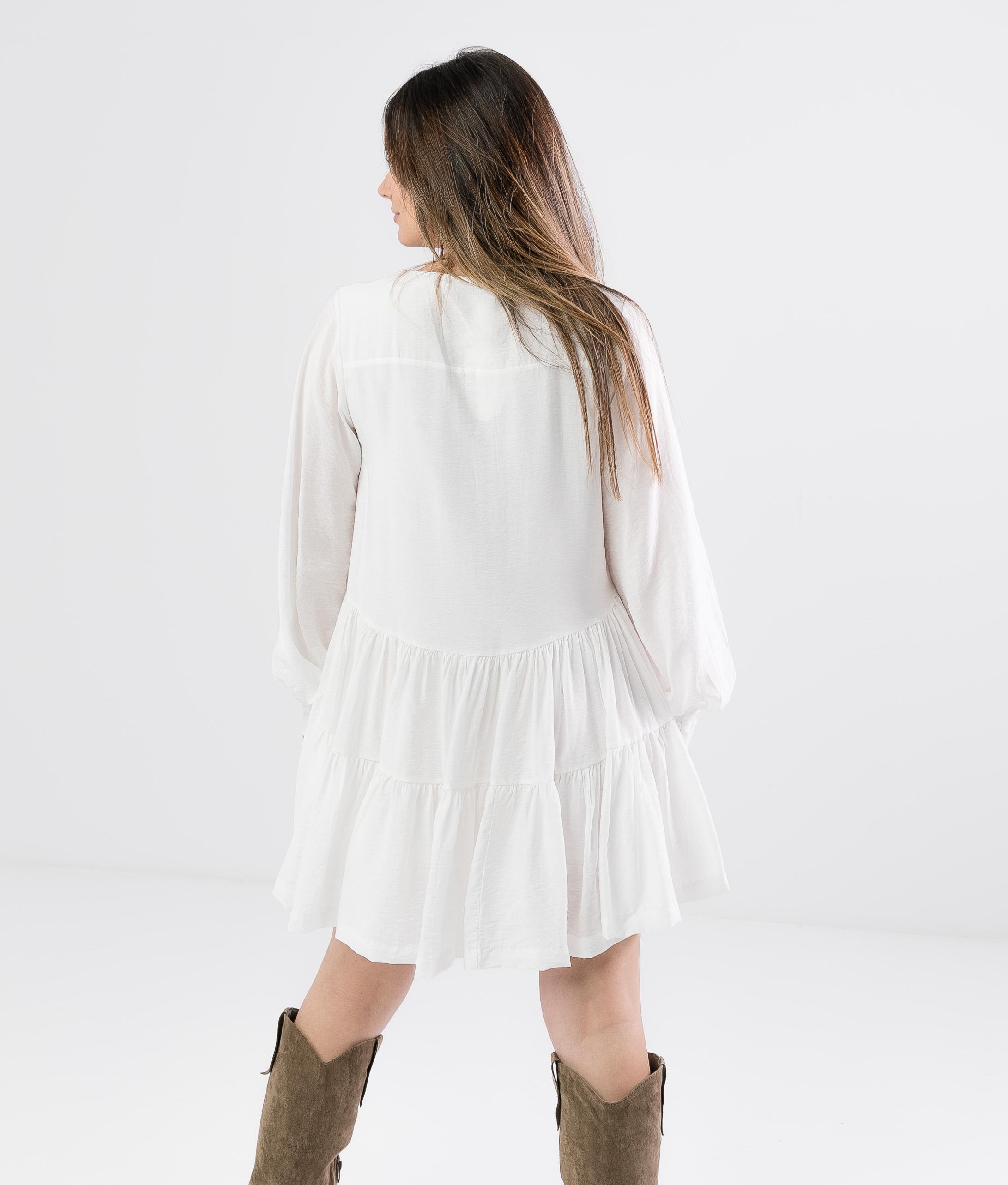 Robe Teniska - Blanc