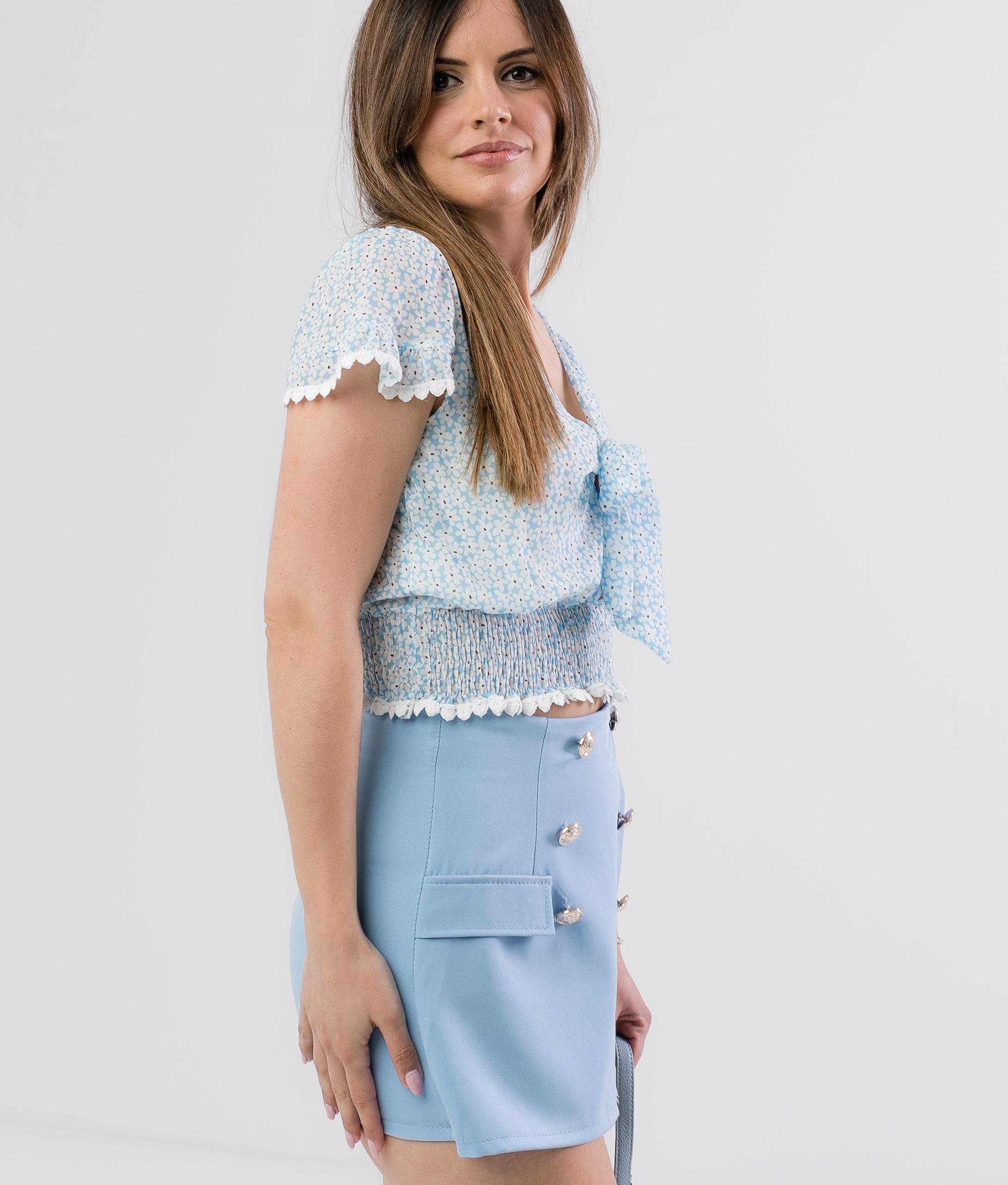 SKIRT PANTS PAREIL - BLUE