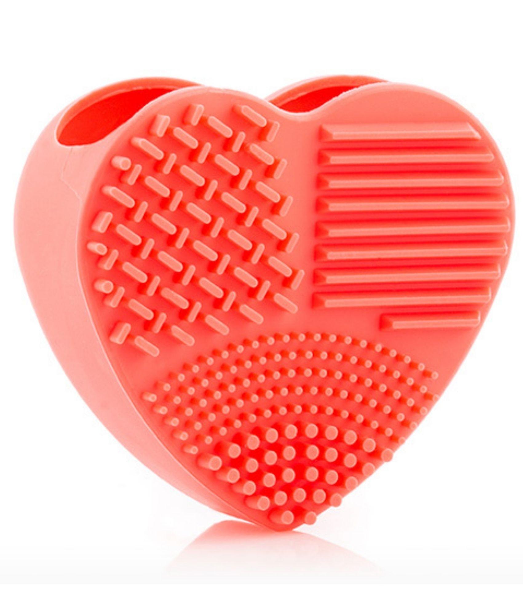 Limpiador de Brochas y Pinceles de Maquillaje Heart