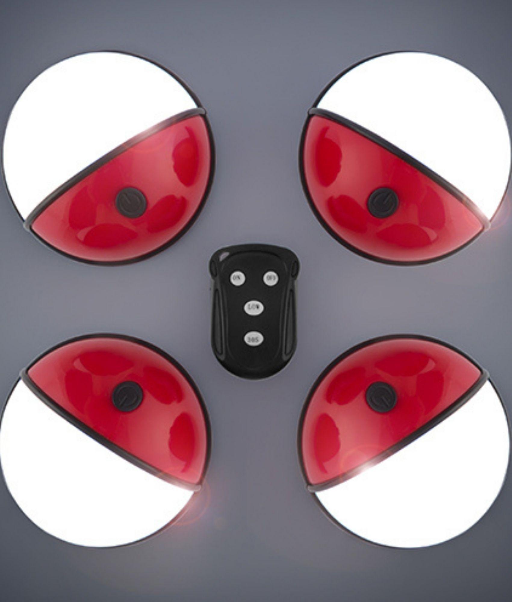Focos LED Portátiles con Mando Pockelamp