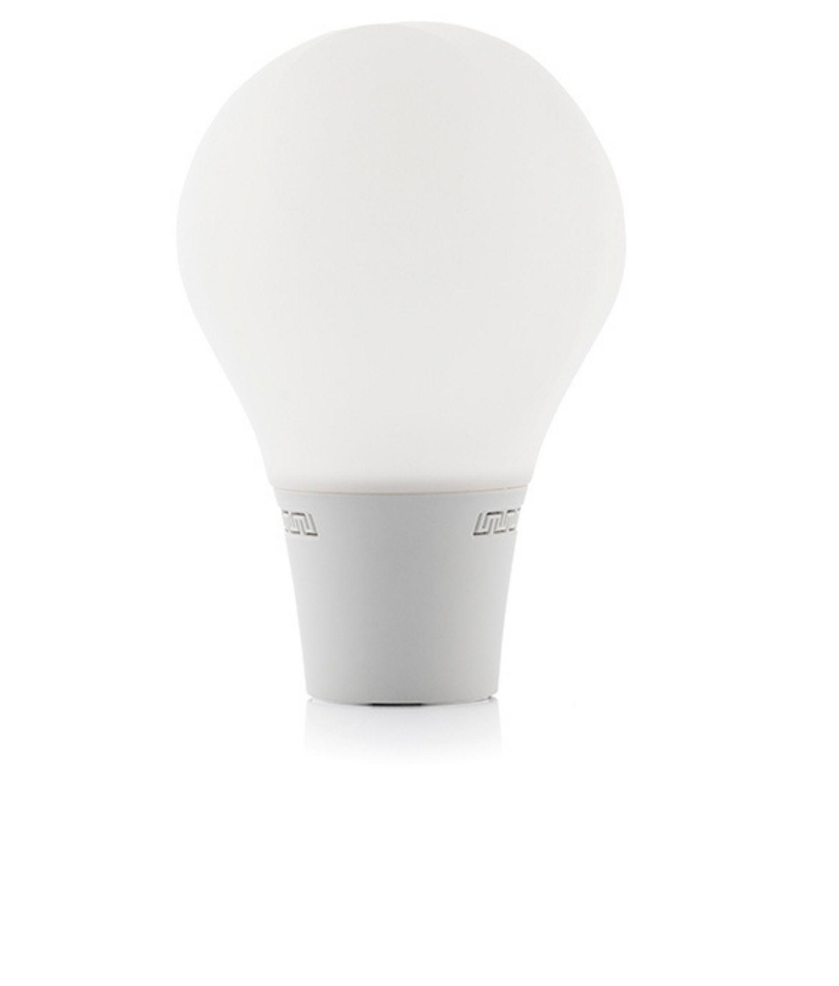 Lámpara Bombilla LED Táctil de Silicona con Altavoz Silitone