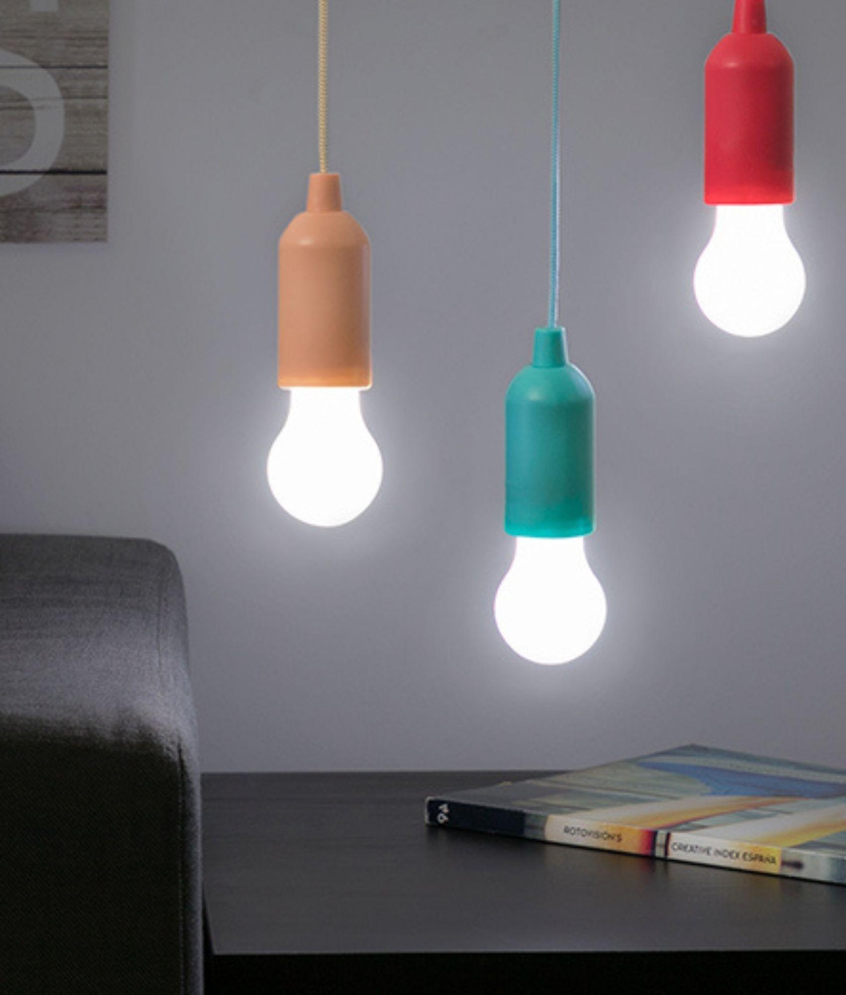 InnovaGoods Pull-Cord LED Bulb