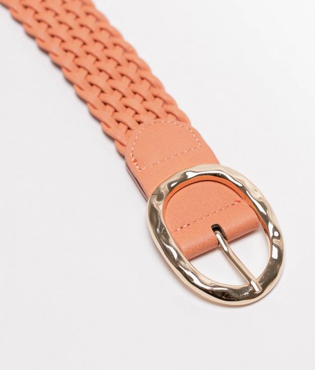 Cinturon Trenzado - orange