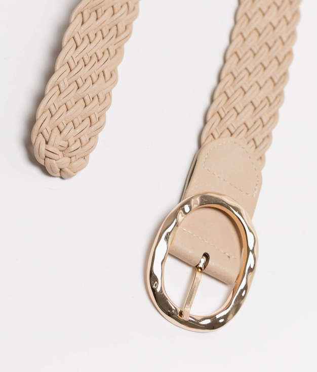 Cinturon Trenzado - toasted