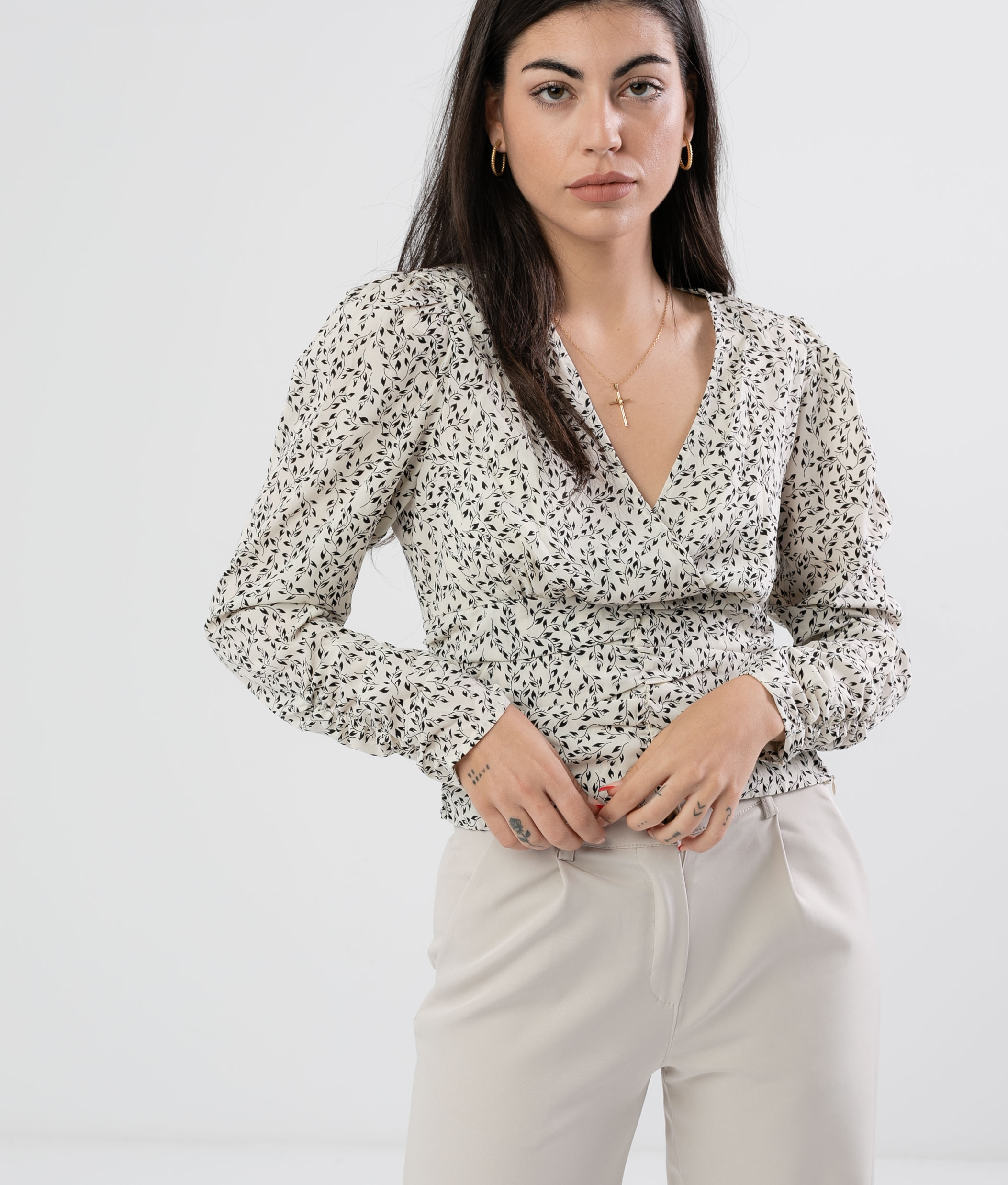 Blouse Wolfre - White