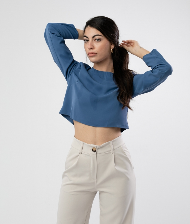 Blusa Yinjer - Azul