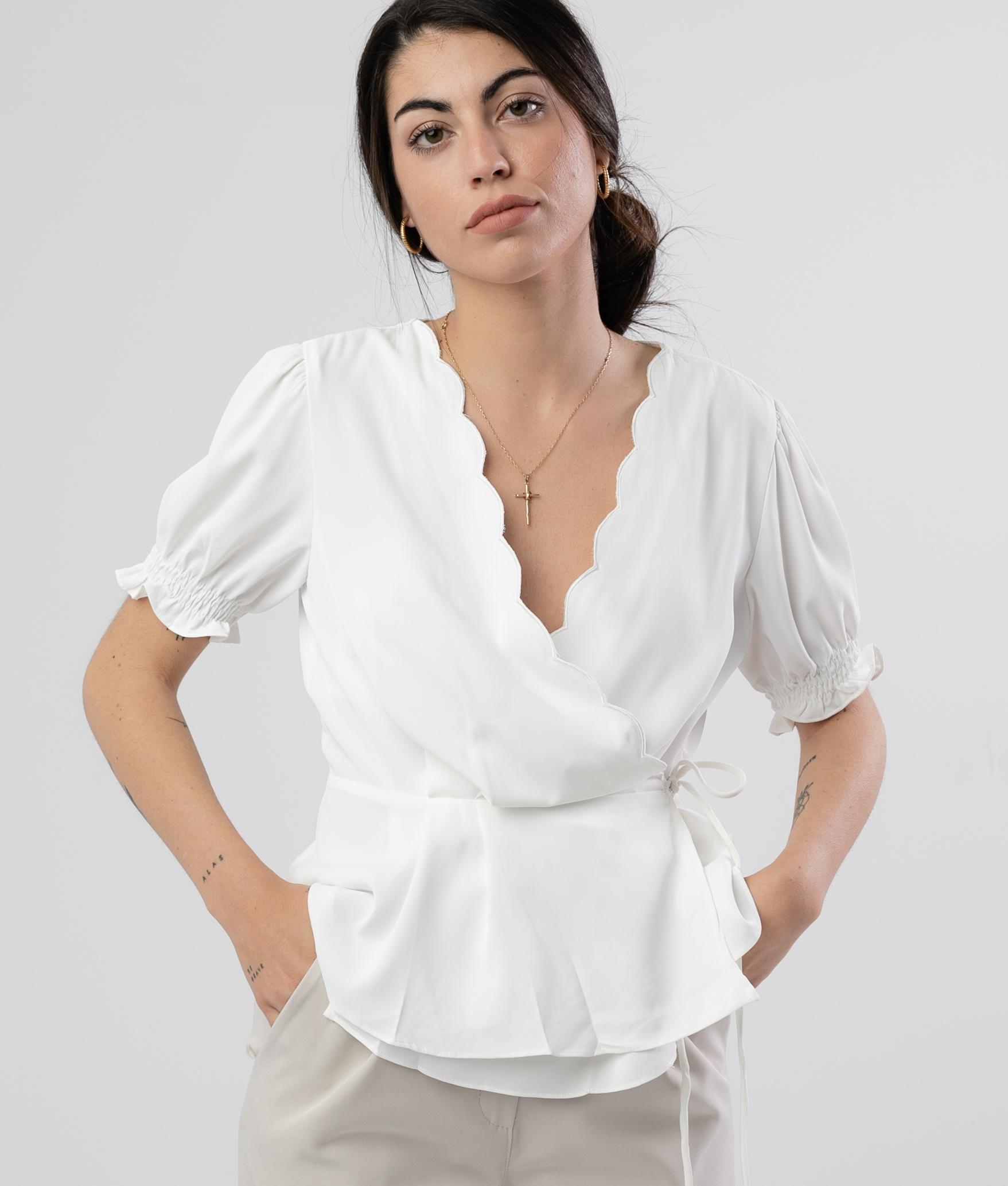 Blouse Linker - Blanc