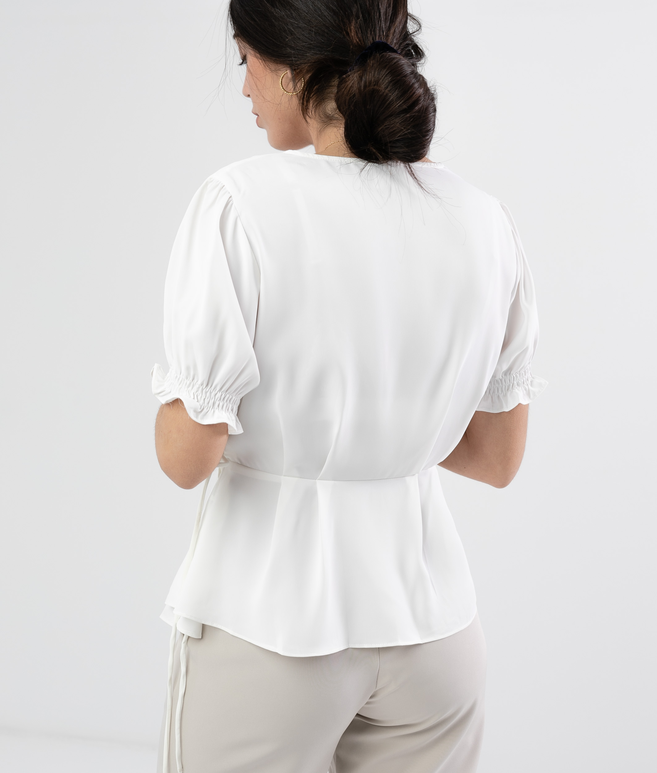 Blouse Linker - White