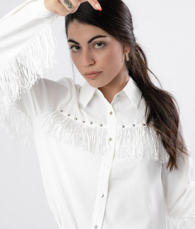 Camisa Pumples - Blanco