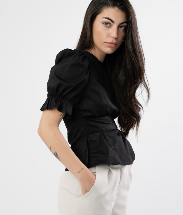Blusa Llunjer - Negro