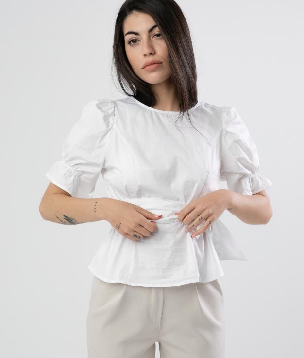 Blusa Llunjer - Blanco