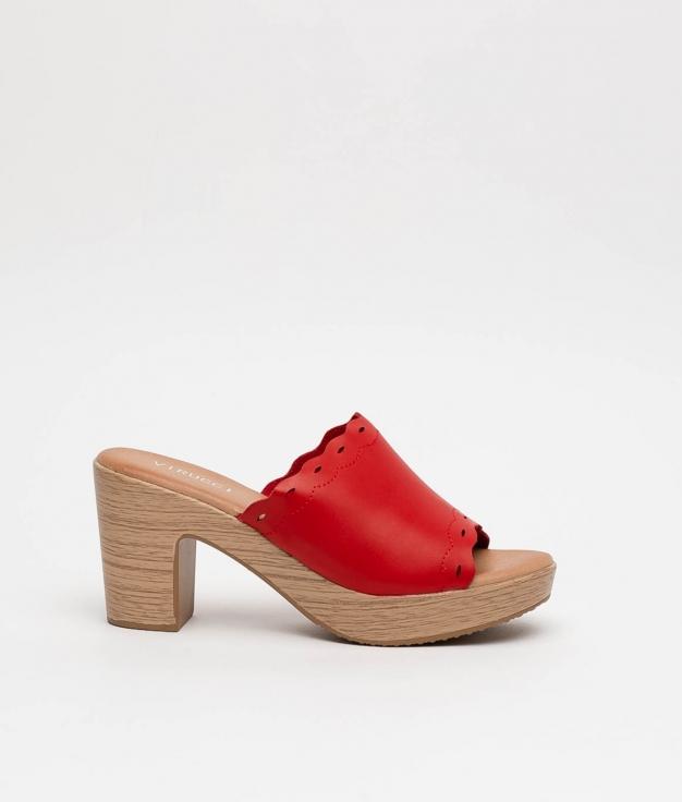 High Sandal Edirne - Red