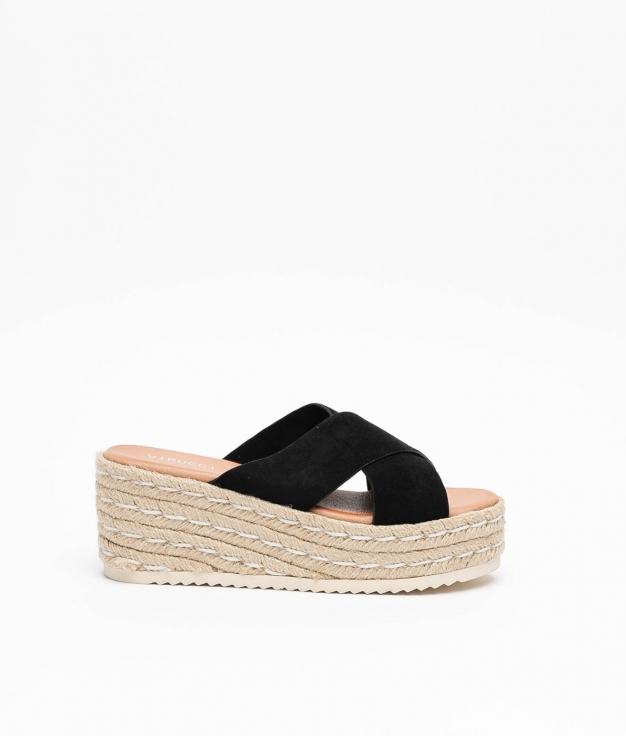 Wedge Heel Alania - Black