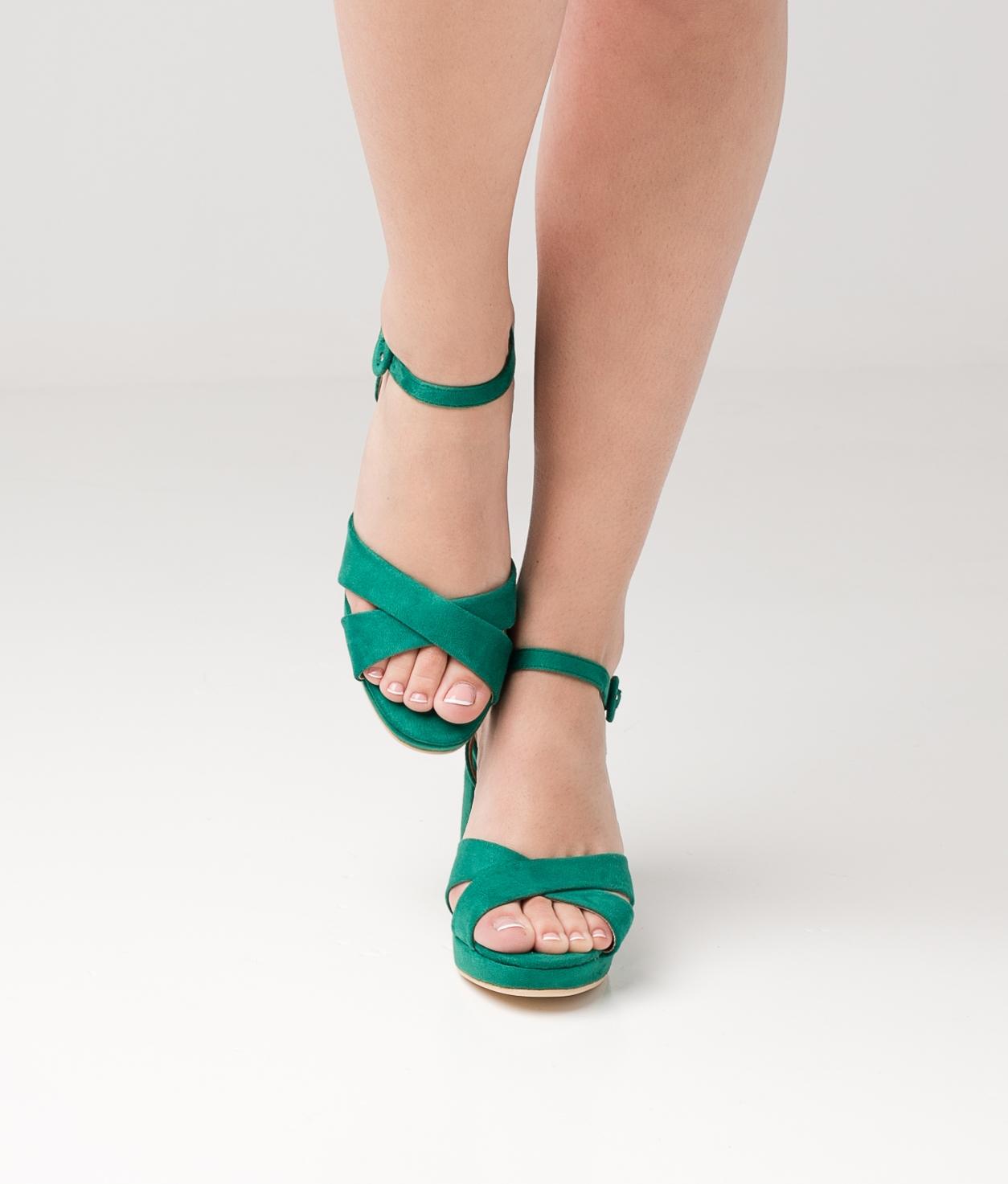 High Sandal Rostin - Green