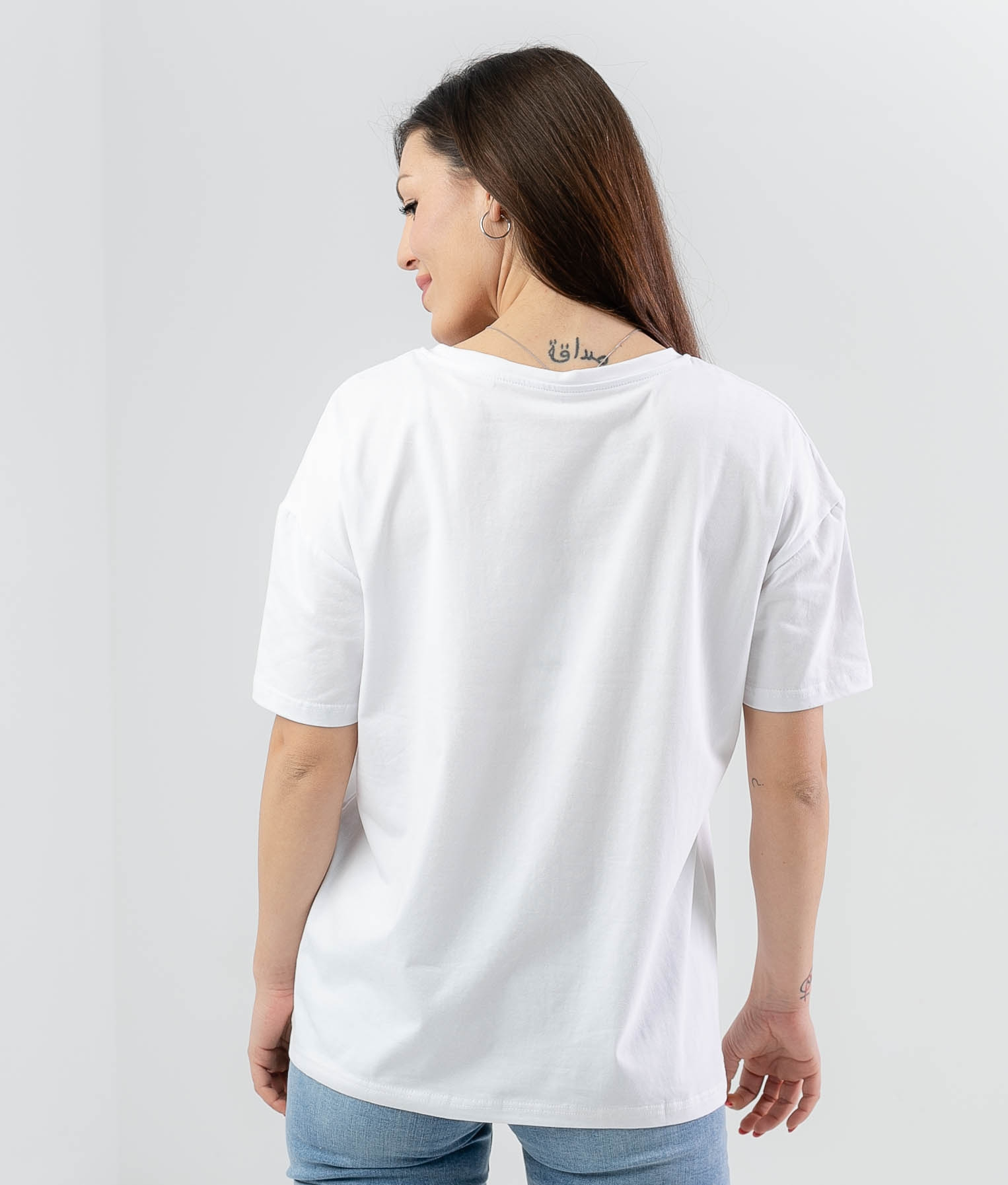 T-shirt Bademi - Blanc