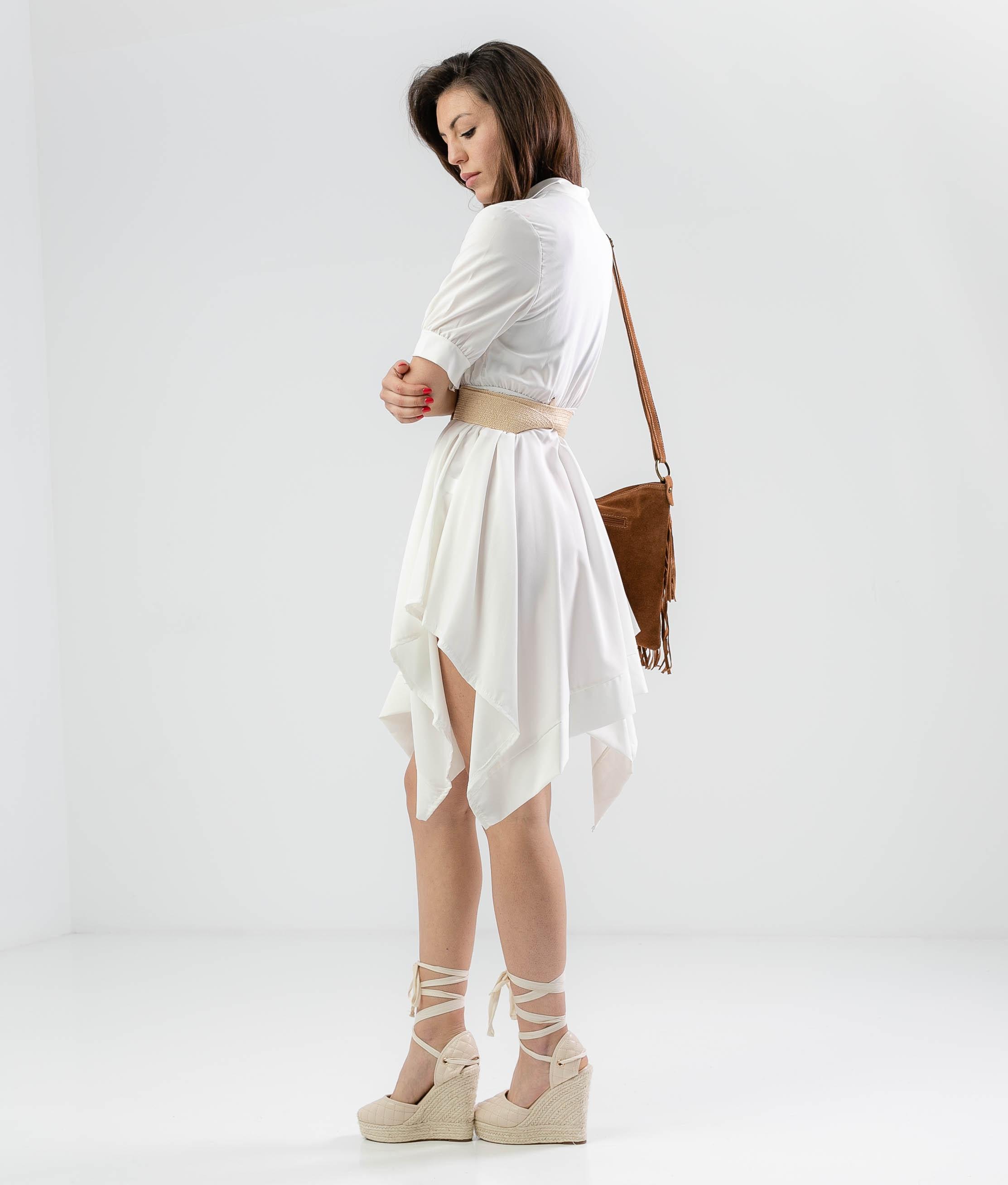 DRESS CHENKO - WHITE