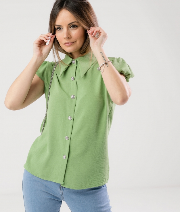 SHIRT BOLPER - GREEN