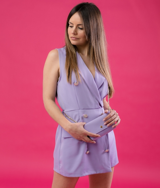 GUALER JUMPSUIT - PURPLE