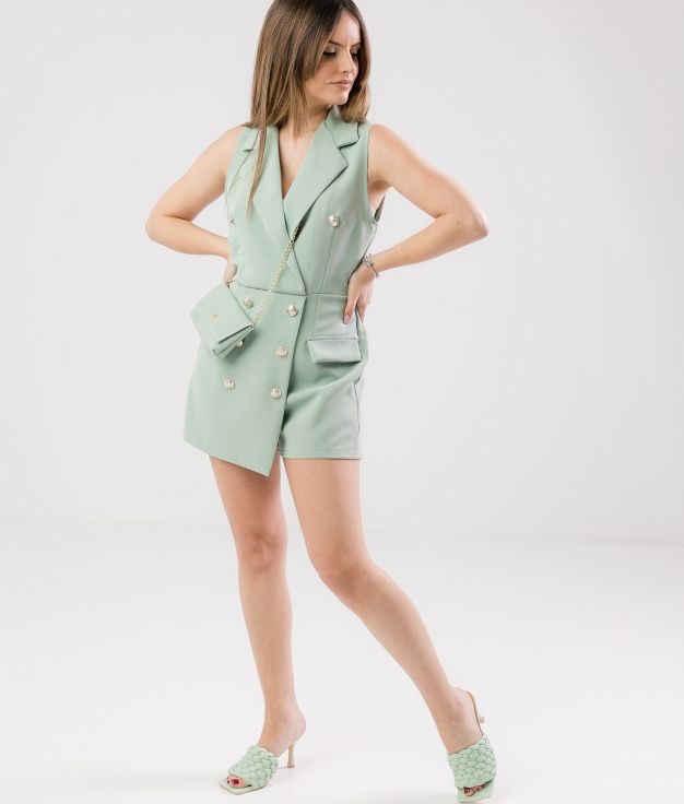 GUALER JUMPSUIT - GREEN