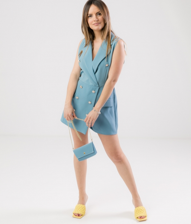 GUALER JUMPSUIT - BLUE