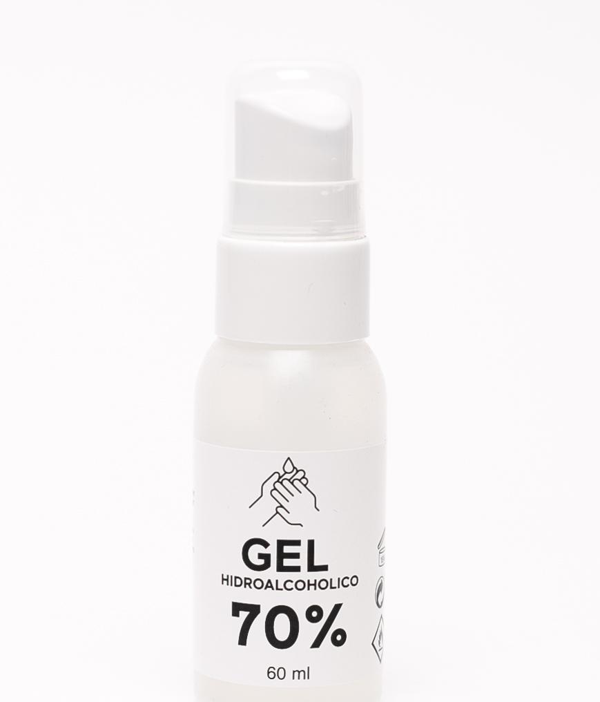 GEL HIDROALCOHÓLICO 70% - 60 ML