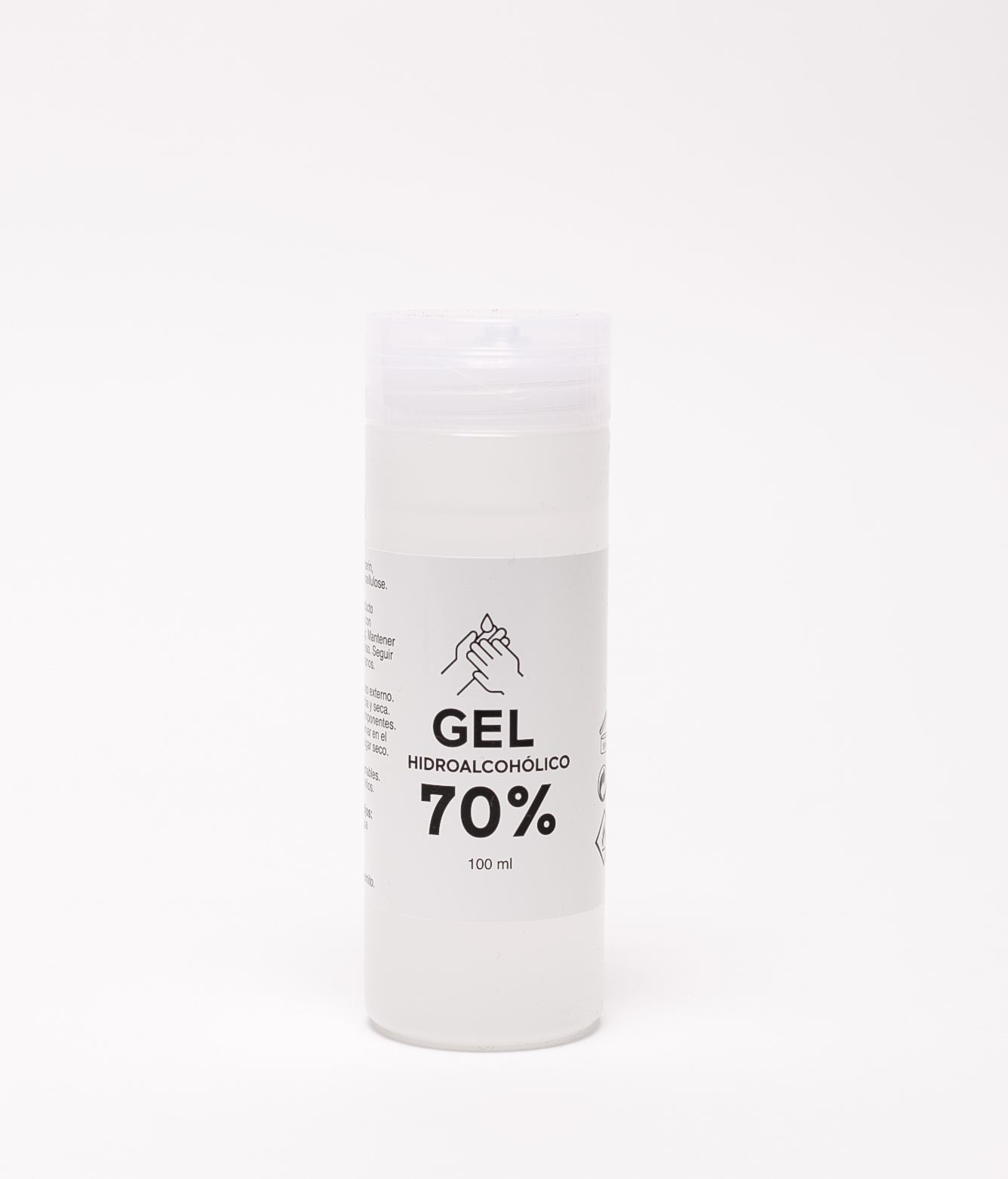 GEL HIDROALCOHÓLICO 70% - 100 ML