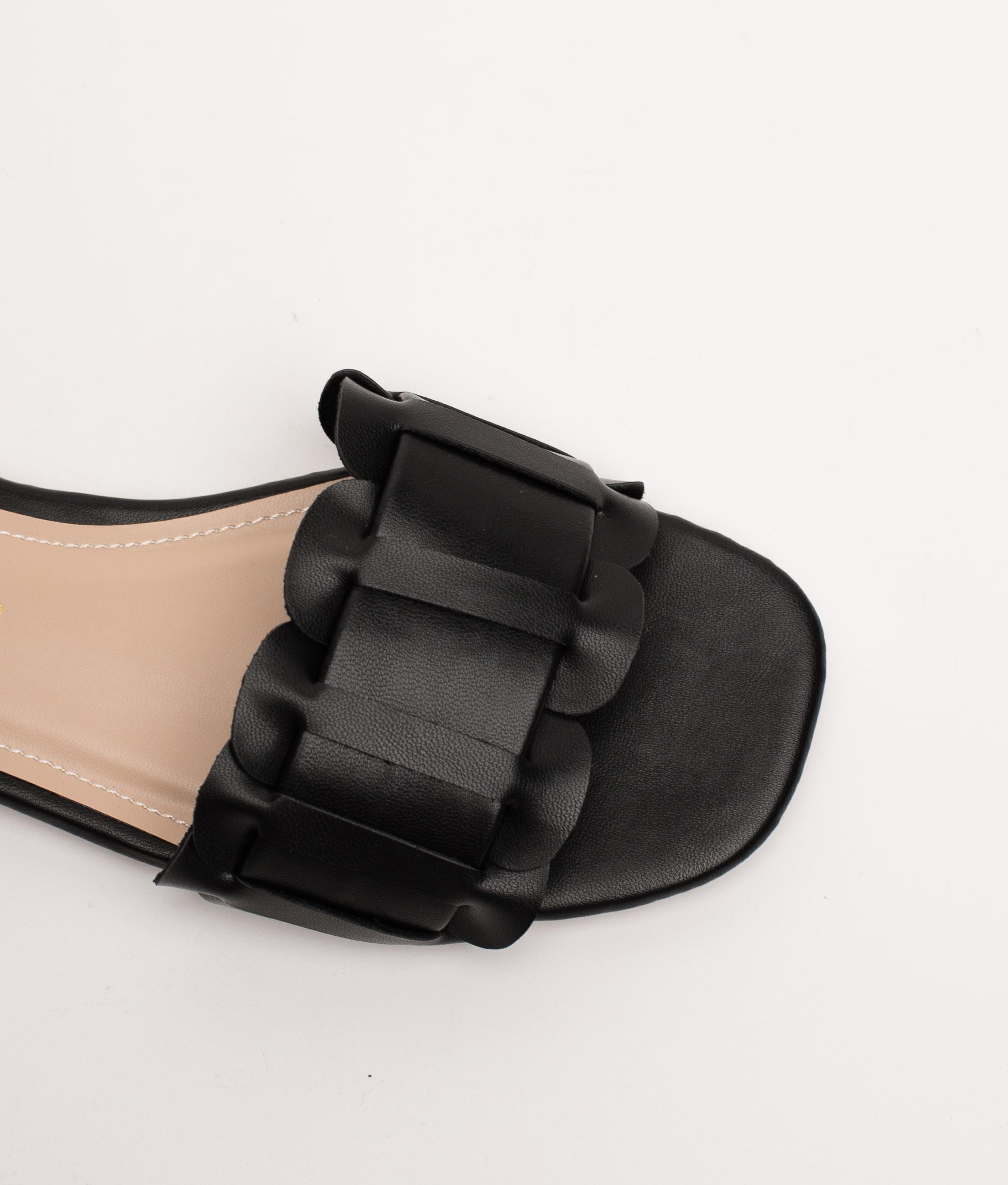ORURO SANDAL - BLACK