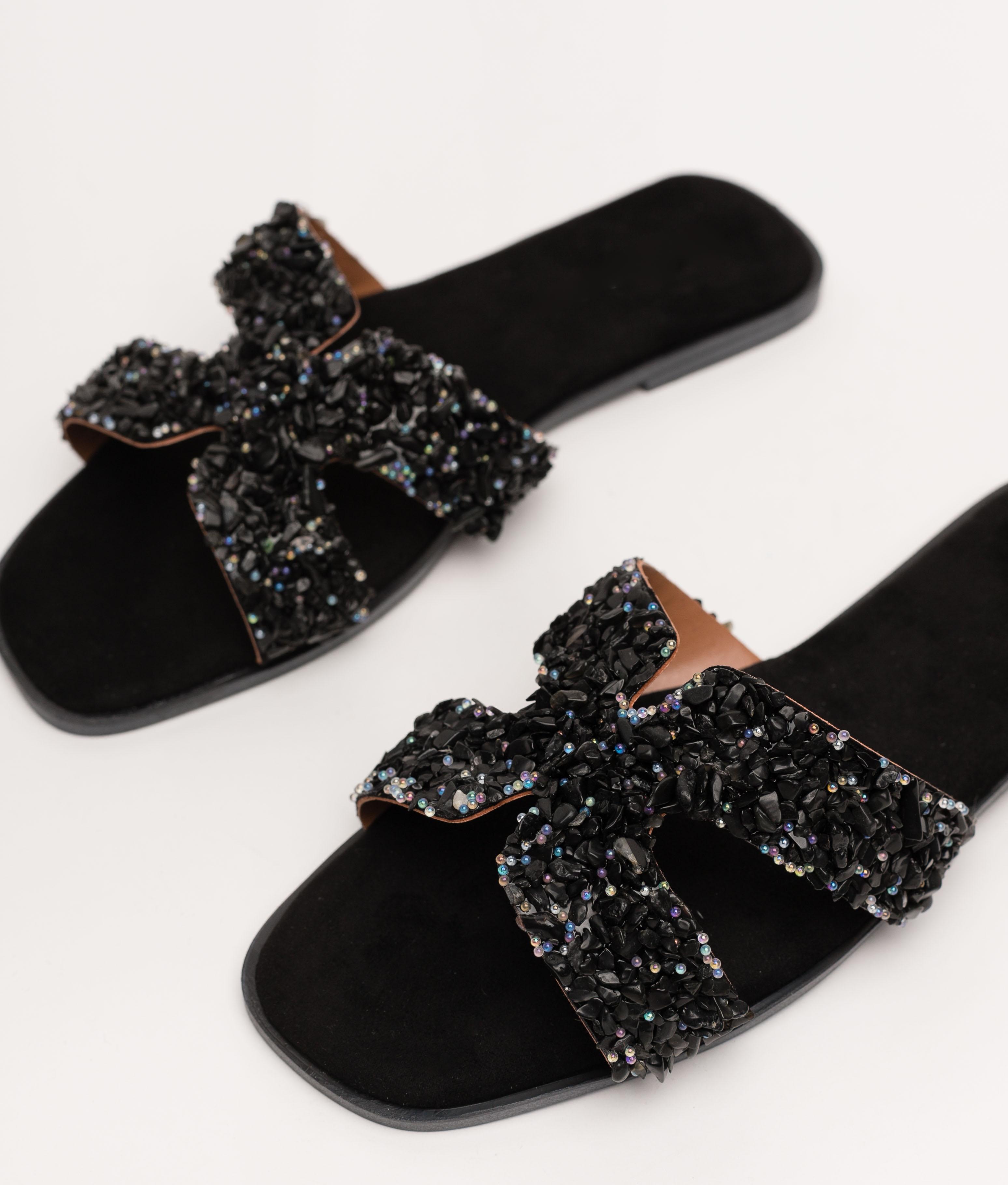 TUNARI SANDAL - BLACK