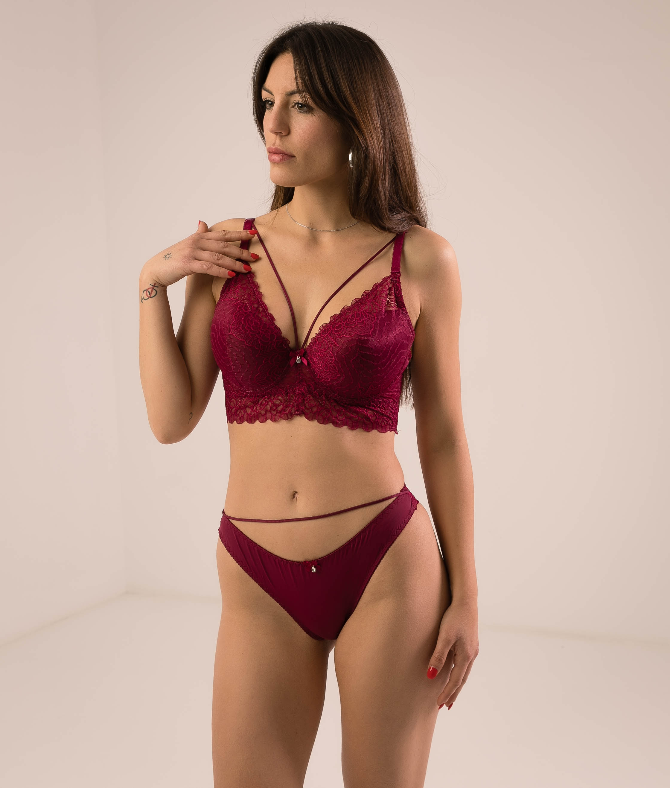 OUTFIT PROSLE - MAROON