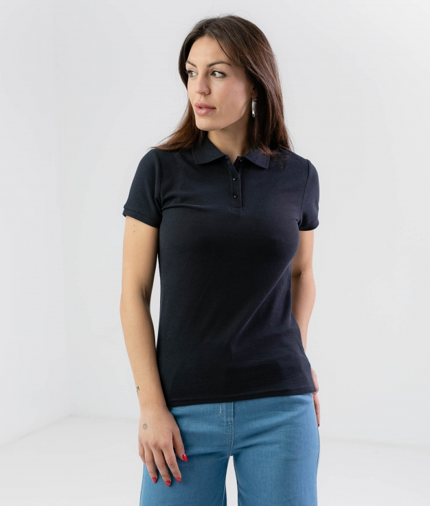 POLO SHIRT JESO - DARK BLUE