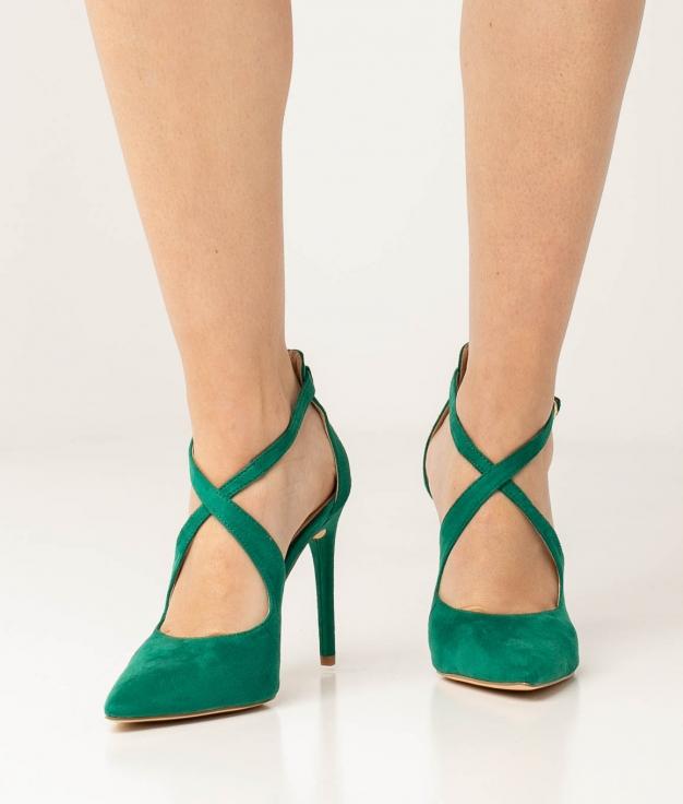 Zapato de Tacón Lilian - Verde