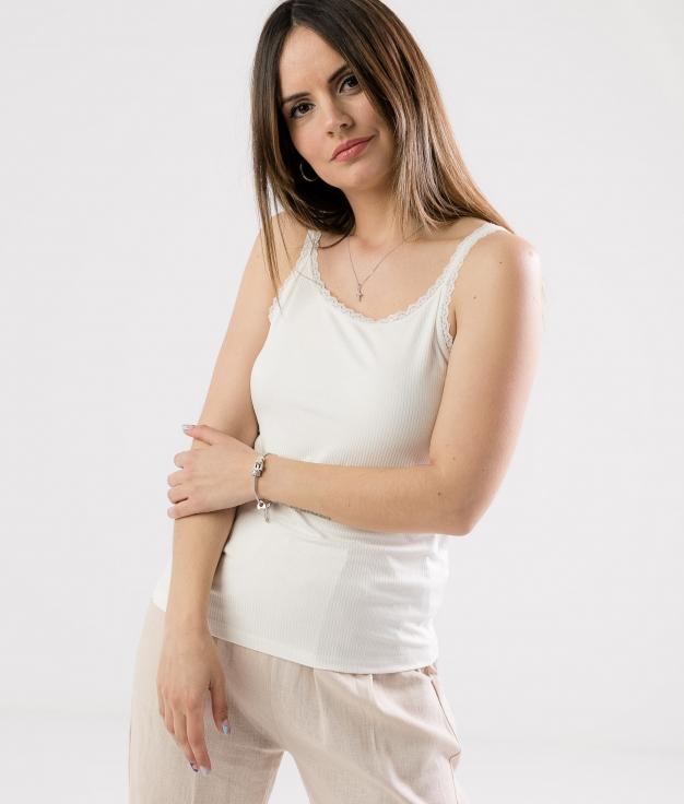 Camiseta Creba - Blanco