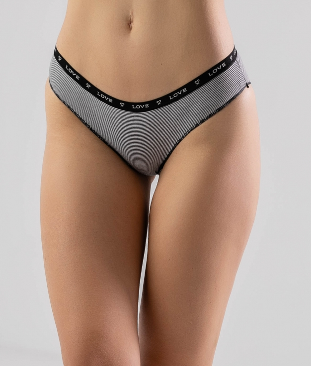 CIMPE KNICKERS - BLACK