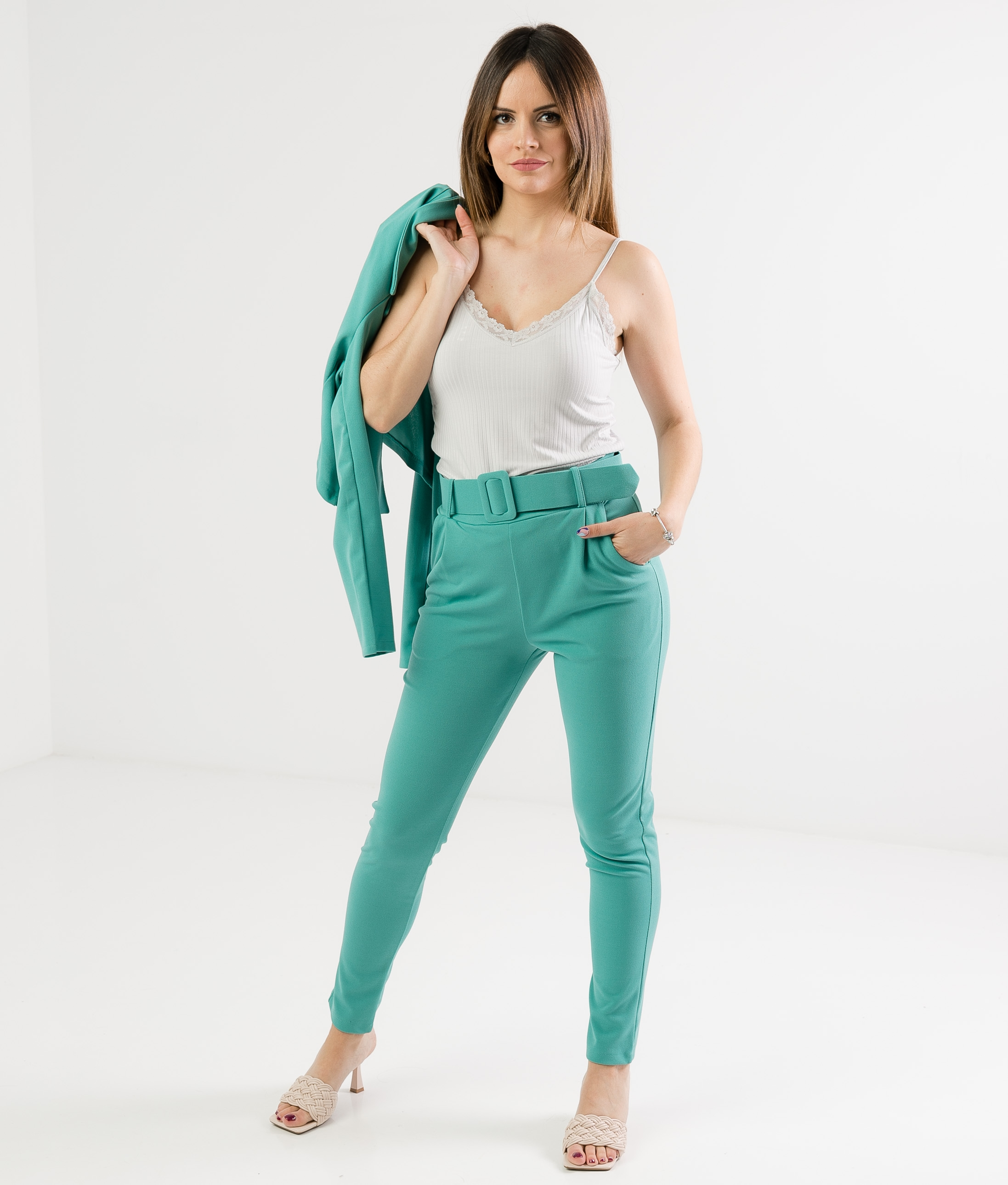 DUKOL OUTFIT - TURQUOISE