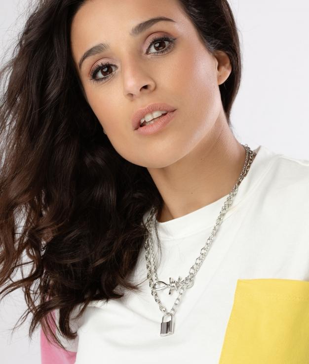 COLLANA JUSQUESE - ARGENTO