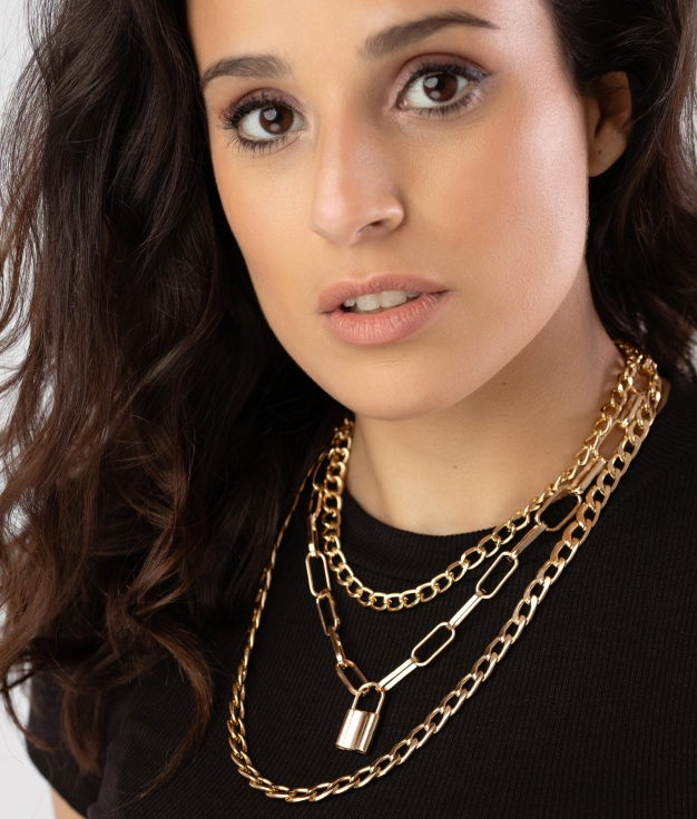 PORLI NECKLACE - GOLD