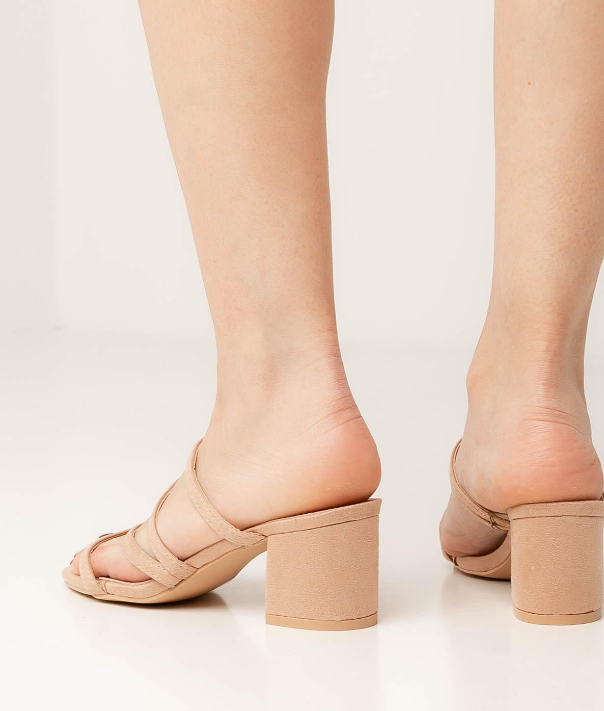 Sandale Talon Lukue - Beige