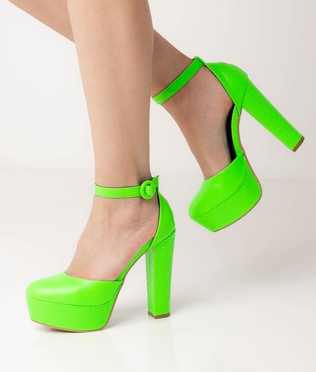 Zapato de Tacón Yanos - Verde