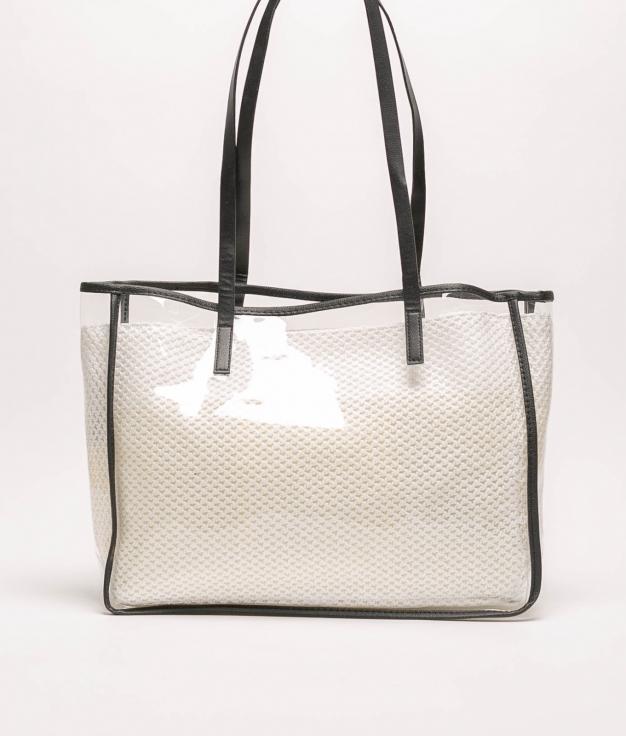 bolso laisa - blanco