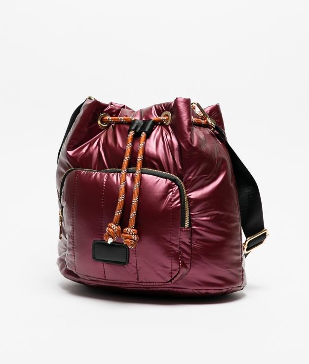 skeila crossbody bag - garnet