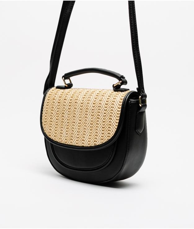 soley shoulder bag - black